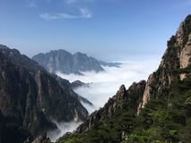 Huang Mountain stock photography