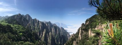 Huang Mountain royalty free stock images