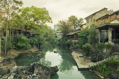 Huang yao Ancient town Royalty Free Stock Photography