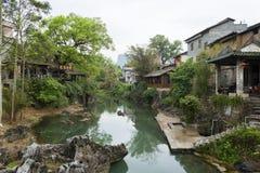 Huang yao Ancient town Stock Photos