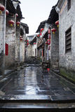 Huang yao Ancient town Stock Photography