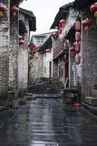Huang yao Ancient town Royalty Free Stock Images