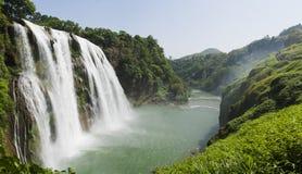 huangguoshu瀑布 图库摄影