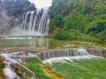 Huangguoshu vattenfall royaltyfri fotografi