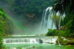 Huangguoshu Waterfall. In Guizhou Province of China Royalty Free Stock Images