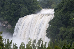 Huangguoshu Waterfall. In china ,falls Royalty Free Stock Photos