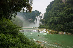 Huangguoshu waterfall. Is China's largest waterfall located in Anshun, Guizhou, China Royalty Free Stock Photos