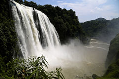 Huangguoshu Waterfall. Eastphoto, tukuchina, Huangguoshu Waterfall Royalty Free Stock Images