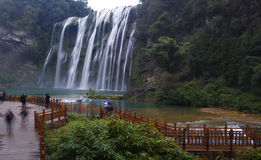 Huangguoshu Waterfall. Eastphoto, tukuchina, Huangguoshu Waterfall, Nature, Beauty Royalty Free Stock Photo