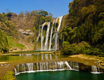 Huangguoshu waterfall 1#. Huangguoshu waterfall,Guizhou anshun China Royalty Free Stock Photo