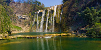 Huangguoshu waterfall 2#. Huangguoshu waterfall,Guizhou anshun China Royalty Free Stock Images