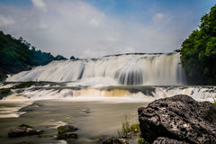 Huangguoshu waterfall. The largest waterfall, is one of the famous falls in the world. Is famous for its and the waters prevailed. Waterfall height is 77.8 Royalty Free Stock Photography
