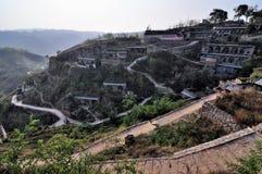 Huanghe qikou old village Stock Image