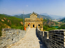Huanghuacheng Great Wall Beacon Tower Stock Photography