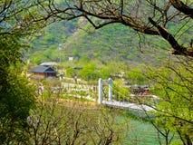 Huanghuacheng Great Wall bridge Stock Photo