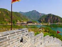 Huanghuacheng Great Wall view. Huanghuacheng Great Wall beautiful view in Bejing China on a sunny day stock image