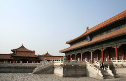 HuangJi Palace. Of the Forbidden City Stock Image
