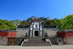 Huangling Temple stock photography