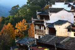 HuangLing village,China Stock Photo