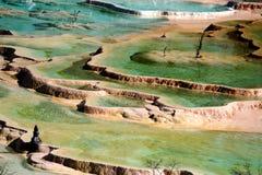 huanglong国家公园 免版税库存照片