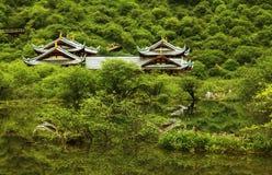 Huanglong escénico Fotos de archivo libres de regalías