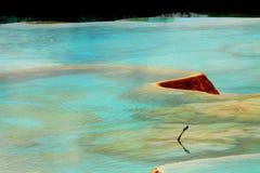 Huanglong Farbe lizenzfreies stockfoto