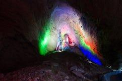 Huanglong grotta, Zhangjiajie Kina Fotografering för Bildbyråer