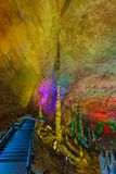 Huanglong gula Dragon Cave - Kina royaltyfria bilder