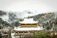 Huanglong National Park Royalty Free Stock Photos