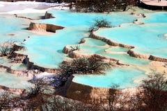 Huanglong National Park Stock Image