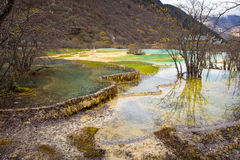 Huanglong National Park Stock Images