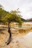 Huanglong nationalpark Κίνα στοκ φωτογραφία