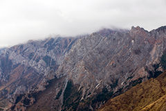 Huanglong nationalpark Arkivbild