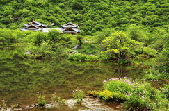Huanglong scenic Stock Image