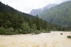 Huanglong Scenic Area in China Royalty Free Stock Photos