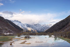 Huanglong Scenic Areas Royalty Free Stock Images