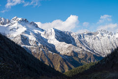 Huanglong Scenic Areas Royalty Free Stock Image