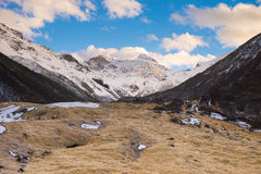 Huanglong Scenic Areas Stock Image