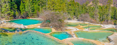 Huanglong Scenic and Historic Interest Area, SiChuan, China Royalty Free Stock Photo