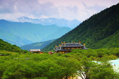 Huanglong temple Royalty Free Stock Image