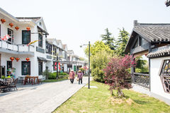 Huanglongxian Village street Royalty Free Stock Photography