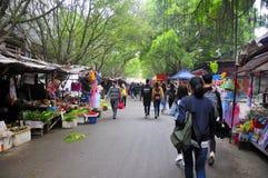 Huangpu Port Village Market Guangzhou China Royalty Free Stock Photography