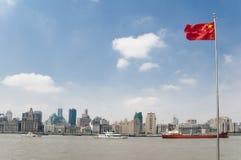 The Huangpu river and the Bund, Shanghai Stock Photos