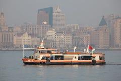 Huangpu River ferry, Shanghai Stock Photography