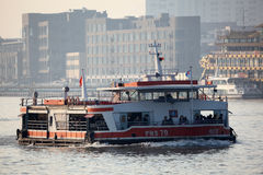 Huangpu River Ferry in Shanghai Stock Photo