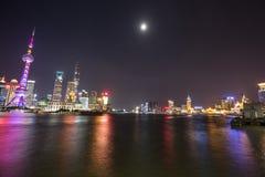 Huangpu River shanghai Arkivbild