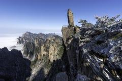 Huangshan Żółte góry Porcelanowe Zdjęcie Stock