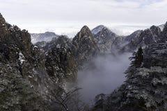 Huangshan Żółte góry Porcelanowe Fotografia Royalty Free