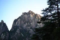 Huangshan żółta góra w Anhui, Chiny, unesco światowe dziedzictwo obraz stock