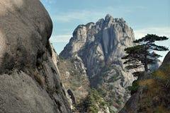 Huangshan, Żółte góry w prowincja anhui w Chiny, zdjęcia royalty free